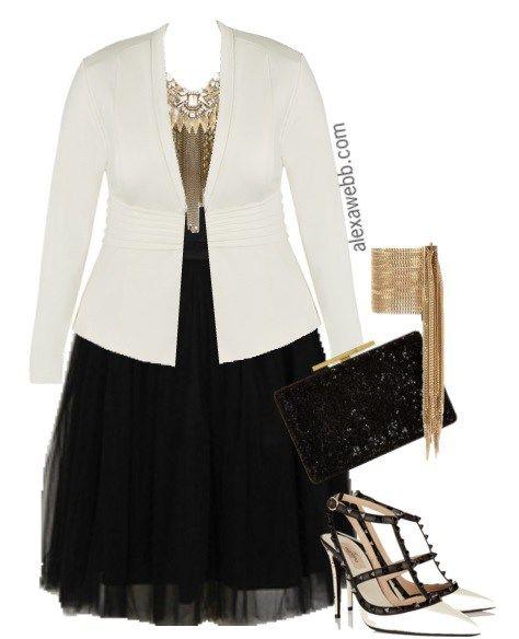 Plus Size Outfit - Plus Size Tutu - Plus Size Fashion for Women - Alexa Webb - alexawebb.com