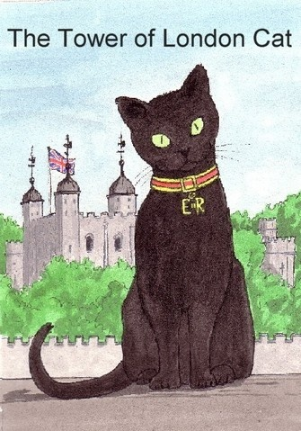 Tower Of London Cat Book