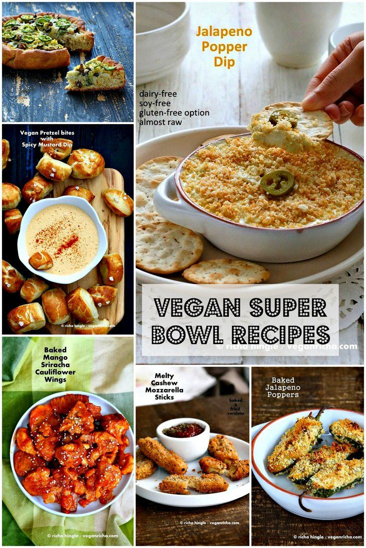 64 best vegan super bowl party images on pinterest vegan recipes 15 healthy vegan super bowl recipes forumfinder Gallery