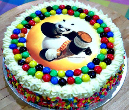 kung fu panda theme cake   kung fu panda birthday cakeI made this for my niece's birthday ...