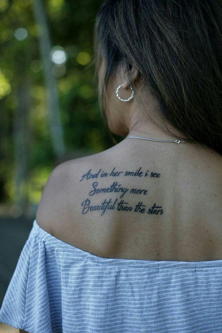 My script tattoo.....