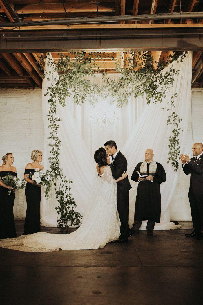 modern secular wedding ceremony script%0A Perfect modern minimalist wedding ceremony   Image by India Earl  wedding   weddinginspiration  industrialwedding