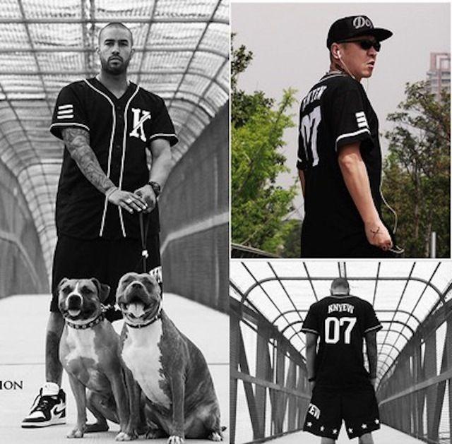 Inconformista de los hombres impresión de la letra camisetas de béisbol de moda hip hop estrella mismo estilo palangre manga corta floja urban clothing