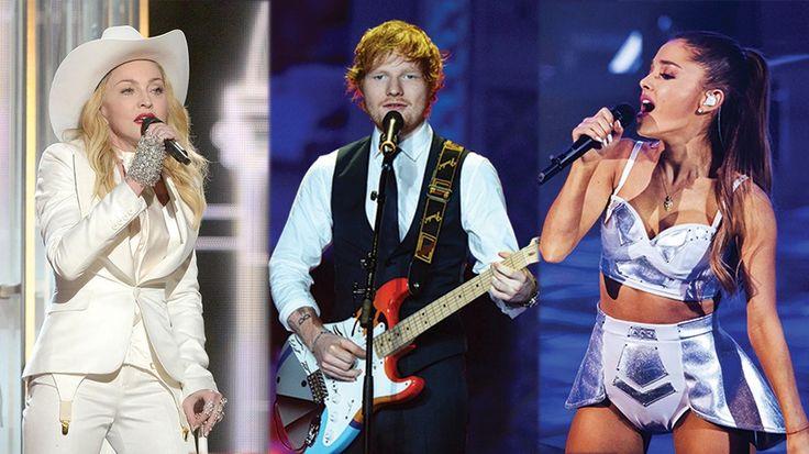 Grammys_thumb Мадонна, Эд Ширан, AC / DC, настроен на выполнение в 2015 Грэмми