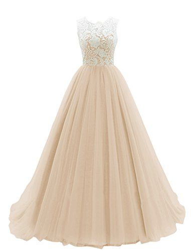 Dresstells Women's Long Tulle Ball Gowns Wedding Dress Evening Formal Party Maxi Dress Champagne Size 18 Dresstells http://www.amazon.co.uk/dp/B018FTNAQS/ref=cm_sw_r_pi_dp_.8fNwb1M7TKVA
