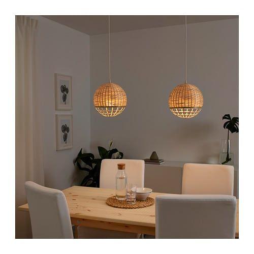 INDUSTRIELL Pendant lamp, bamboo globe   Pendant lamp ...