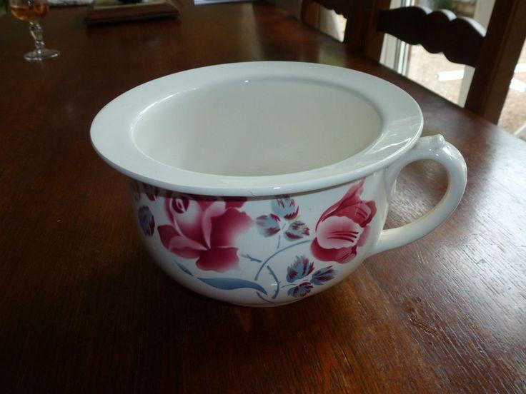89 best the humble chamber pot images on pinterest jars - Pot de chambre antique ...