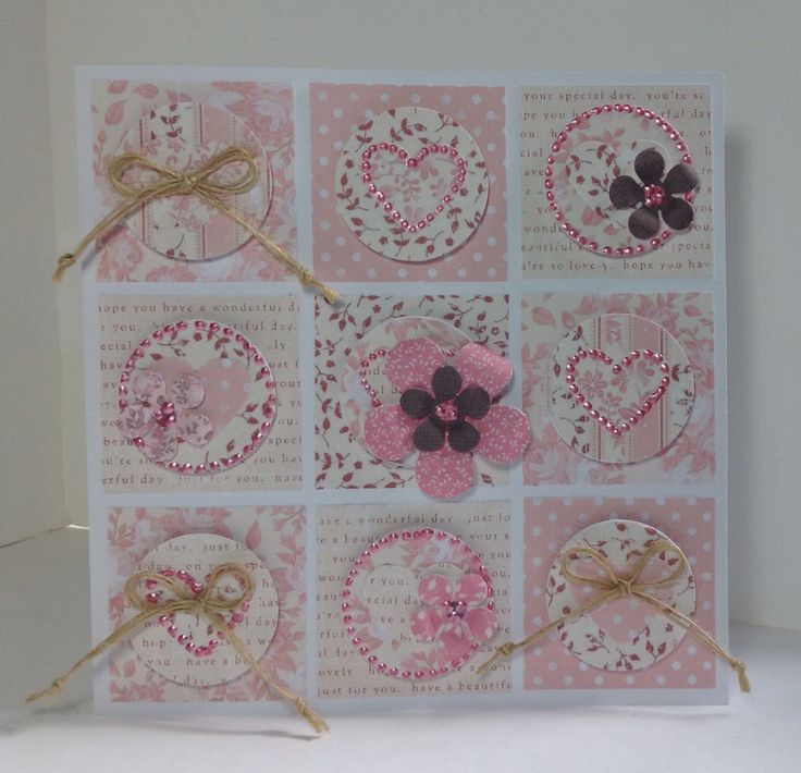 Card designed by Julie Hickey using the Rosa collection.
