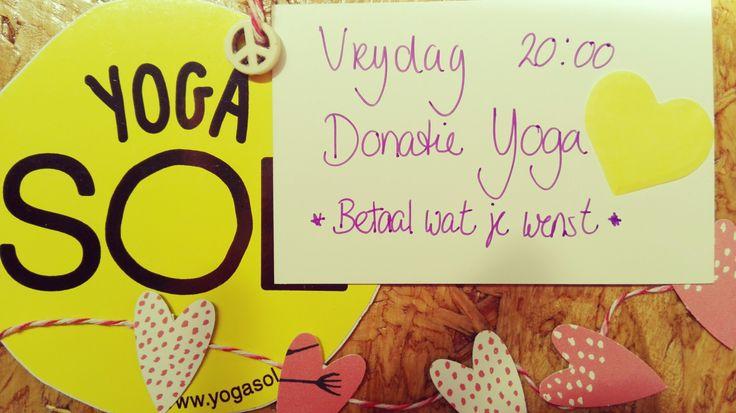 Donatie Yoga