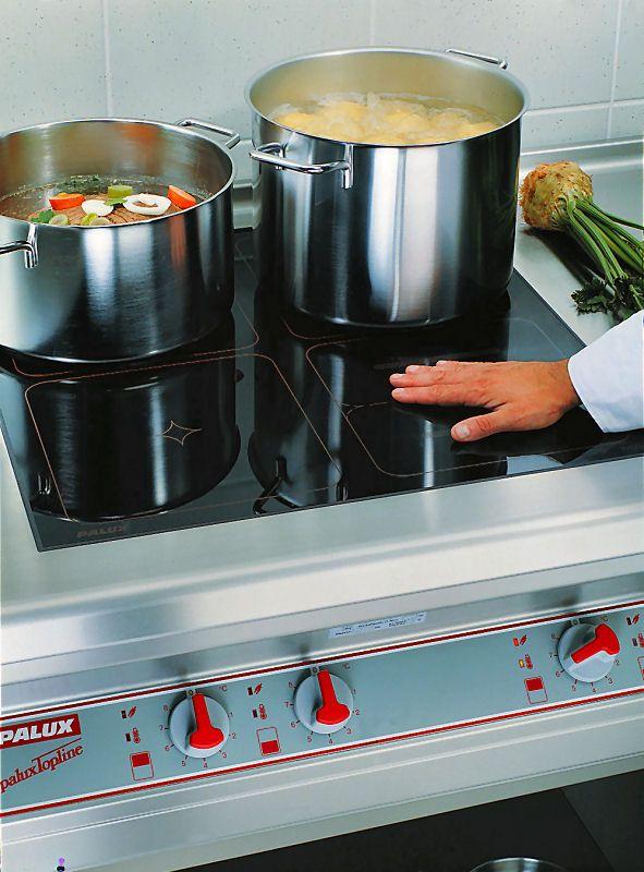 PALUX Topline Induktionsherd -  Kochen und Braten