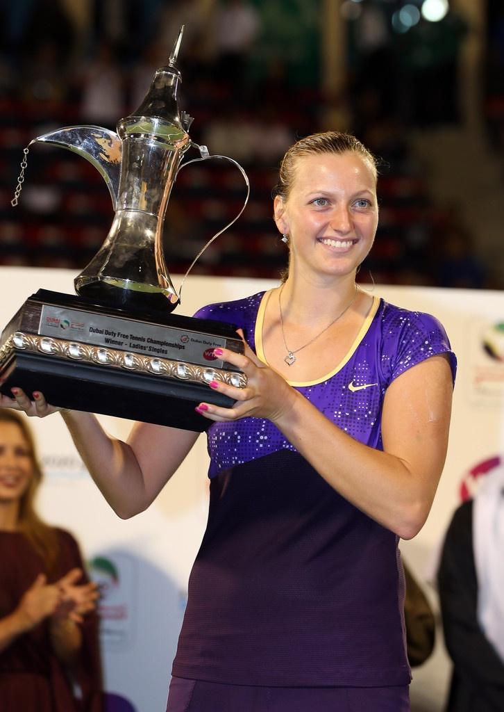 Petra Kvitova - Dubai 2013