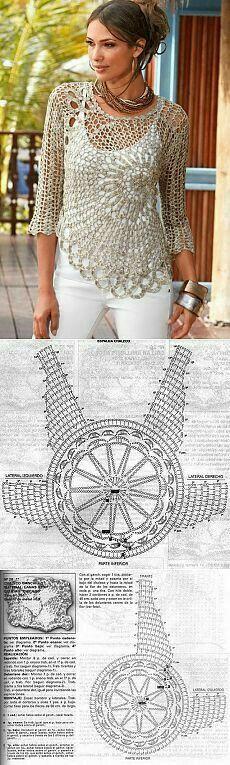 Blusa espiral
