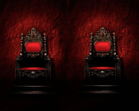 Exclusive Reveal: The Endpapers from J.R. Ward's The King by Team H & H