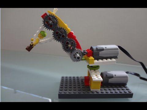 Robotica educativa lego wedo pinzas - YouTube