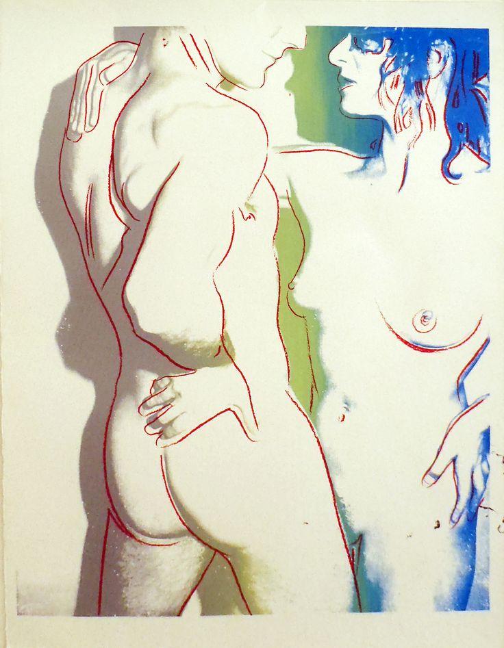Andy Warhol. Love Variants, 1983, unique color screenprint, trial proof