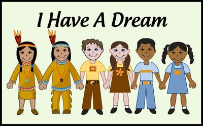 I Have A Dream for Kids | Martin luther king day, Art and ...