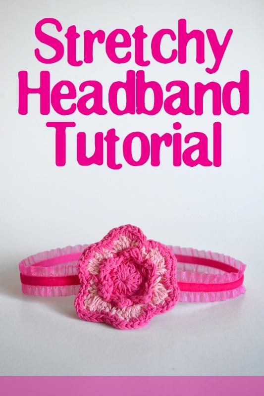 diy for girls & baby girls ~ Stretchy Headband Tutorial