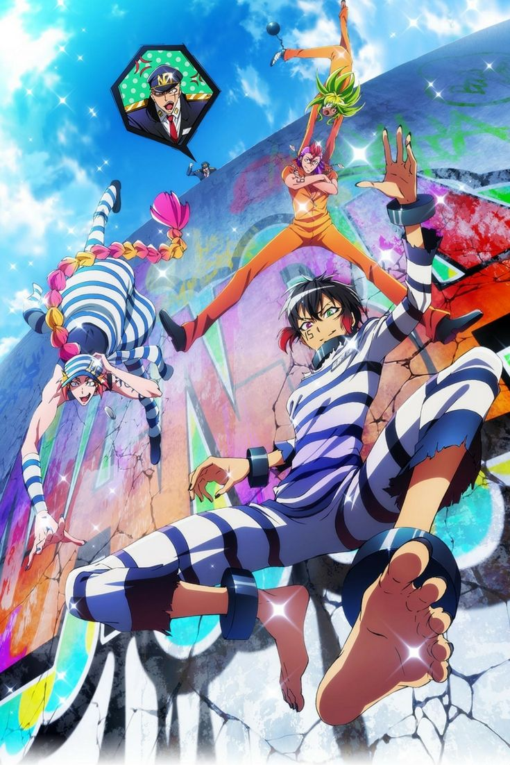 Nanbaka anime, The numbers anime, numbaka, upcoming anime fall 2016, fall anime season 2016