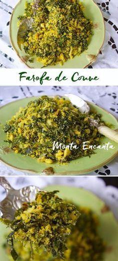 Farofa de Couve com ovos – Brasileiríssima, mais verde e amarela impossível. É um dos nossos acompanhamentos preferidos. Faz parte da nossa vida, desde o tempo dos índios, com a …
