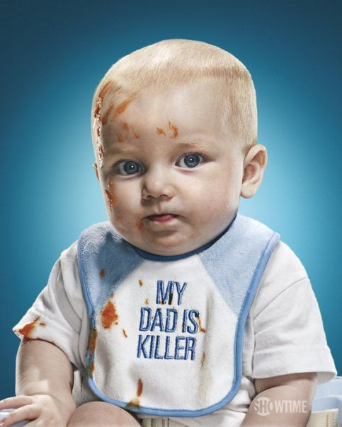 Dexter's baby Harrison