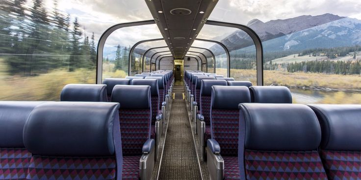 Photos of the best scenic train rides around the world.