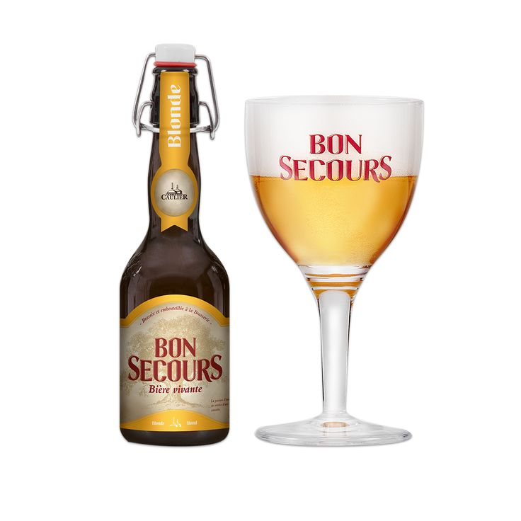 Bon Secours Blonde - Brasserie Caulier