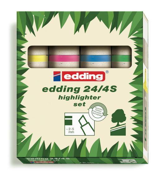 Zvýrazňovače Edding EcoLine jsou udržitelnou alternativou k běžným, nešetrným kancelářským produktům. Jejich kvalita je prvotřídníjako u jakéhokoliv produktu Edding, ale s citelně nižším dopadem na životní prostředí. Sada obsahuje žlutý, růžový,…