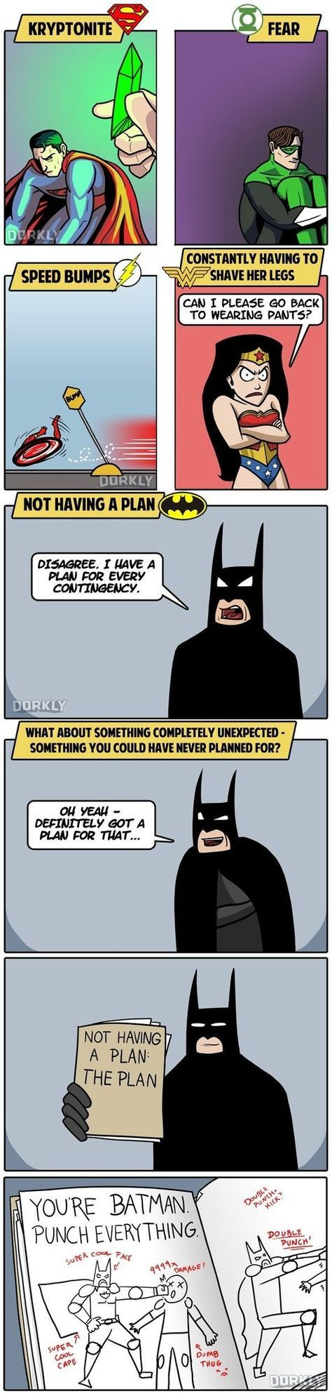 The 5 Greatest Weaknesses Of DC Superheroes. #lol #haha #funny