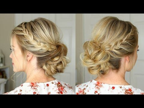 Double Lace Braids Updo | Missy Sue | Bloglovin'