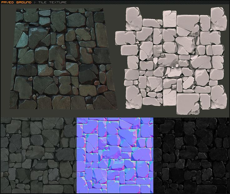 polycount rocks - Google Search