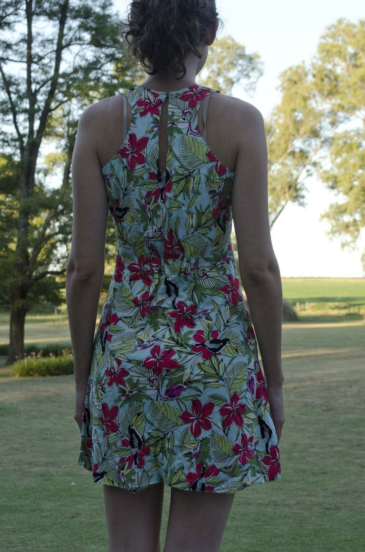 vestido de fibrana