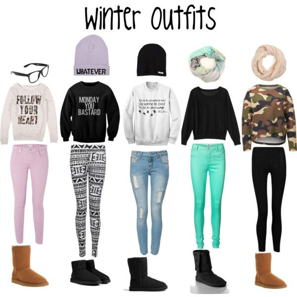 Outfits For High School Winter | frankmba.com