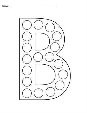 Free Letter K Do A Dot Printables Uppercase Lowercase Letters