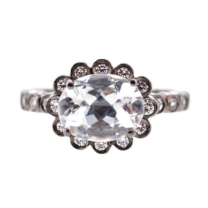 unique engagement ring settings oval cut engagement. Black Bedroom Furniture Sets. Home Design Ideas