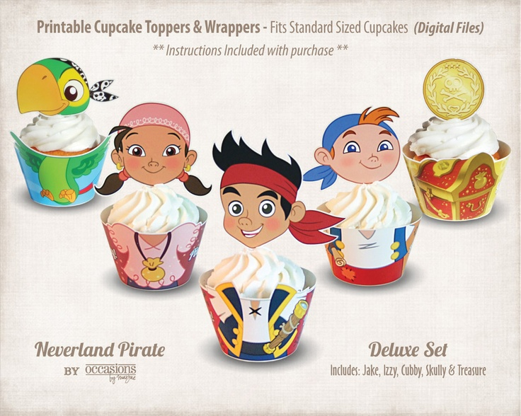 jake and the neverland pirates cupcakes - photo #40