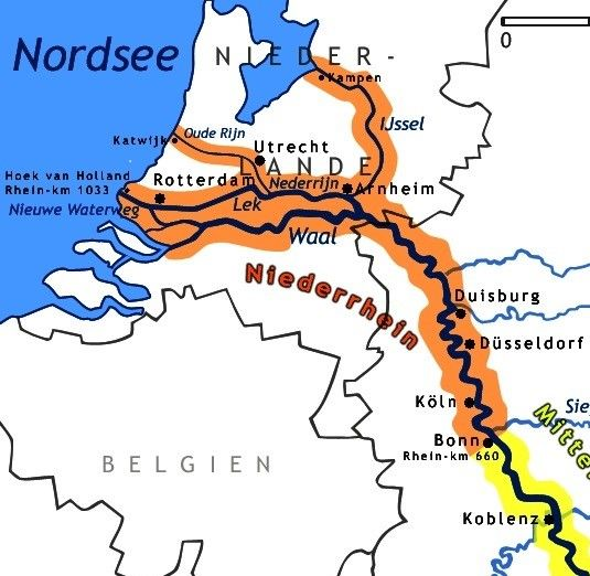 "The Lower Rhine River region of Holland, called in Dutch ""Waal.""  The Waal River is the main distributory branch of the Rhine River after it leaves the German city of Duisburg.  It would have carried countless remains of RAF and RCAF bombers and their crews back towards home during and after the Battle of the Ruhr aerial bombing campaign, March to July 1943."