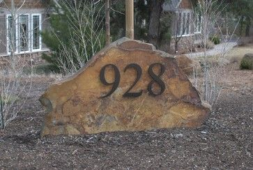 Modern House Numbers - modern - accessories and decor - albuquerque - by Moderndwellnumbers
