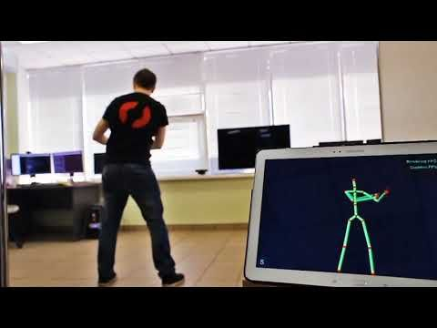 Nuitrack Full body skeletal tracking Software - Kinect
