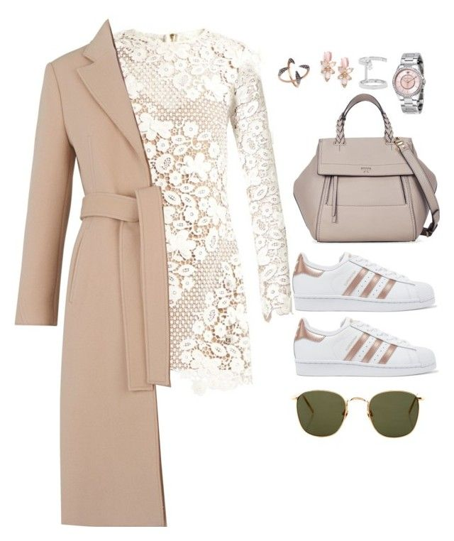 """""""Без названия #1827"""" by froggydisastier ❤ liked on Polyvore featuring self-portrait, adidas Originals, Tory Burch, Juicy Couture, Repossi, Kate Spade, Whistles, Katie Rowland and Linda Farrow"""