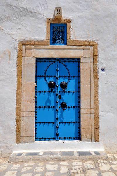 1000 id es propos de sidi bou said sur pinterest for Decoration porte sidi bou said