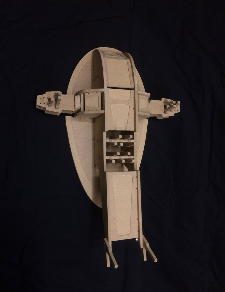 Star Wars Slave 1 Gunship - Starship - 3D puzzle - Model