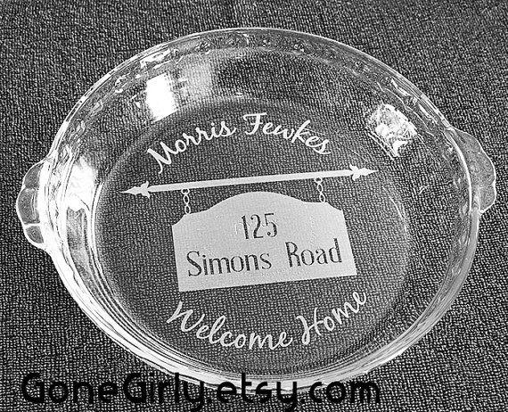 Welcome Home Housewarming Or Realtor Gift. Custom Engraving