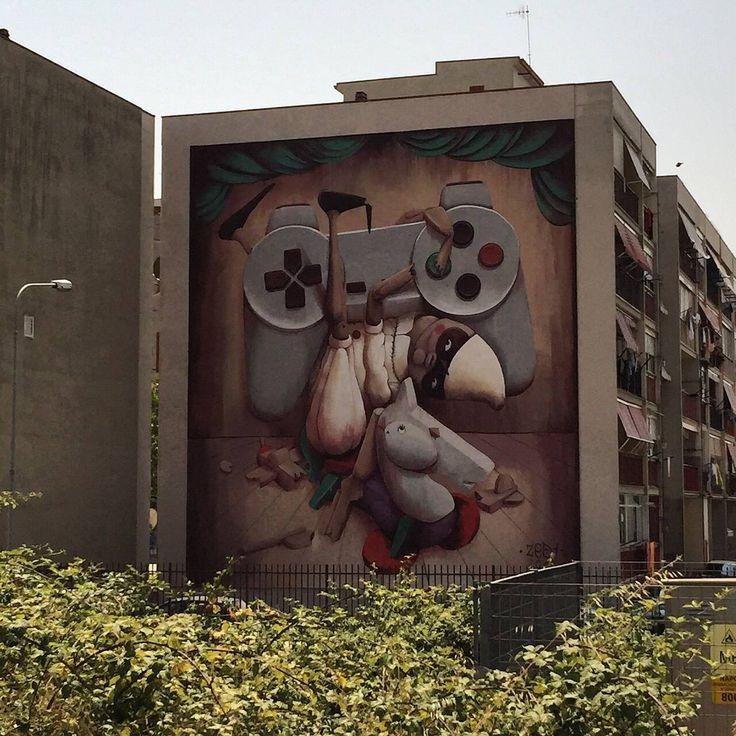 Da Napoli a Trieste, contro il razzismo parla la street art – Articolo21
