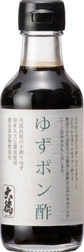 大徳醤油 ゆずポン酢 200ml