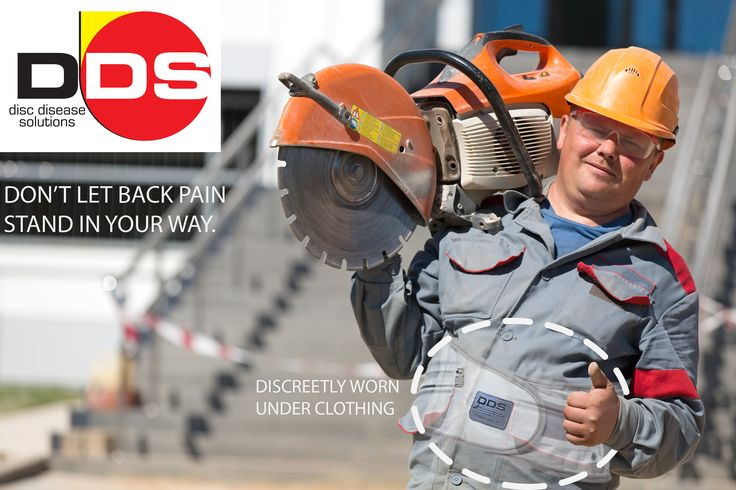 Heavy lifting? We've got your back...literally! The DDS 500, lumbar decompression belt, will give you the support and pain relief that you've been searching for. Perfect for use on the job site, or sitting at your desk in the office, our braces will provide amazing comfort for your daily routine while fitting discreetly under clothing. For more information, please visit us at www.discdiseasesolutions.com.