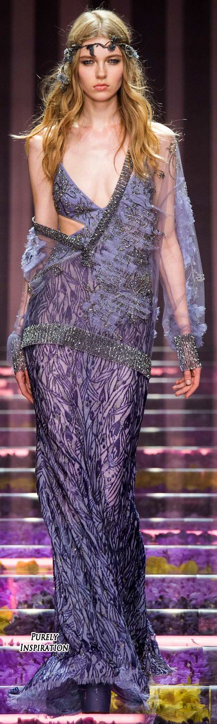 Atelier Versace Fall 2015 Haute Couture | Purely Inspiration- this top layer is bomb
