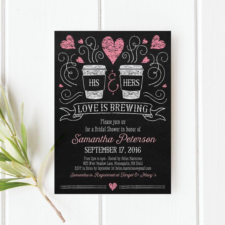 Printable Invitations Bridal Shower