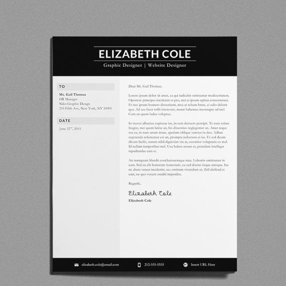 8 Best Creative Resumes Images On Pinterest Resume Templates