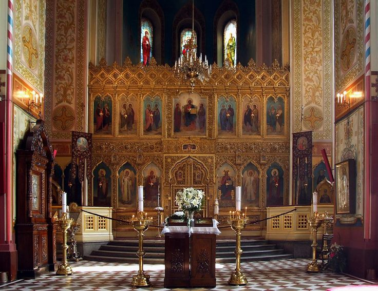 Alexander Nevsky Cathedral in Tallinn - interior - Alexander Nevsky Cathedral, Tallinn - Wikipedia, the free encyclopedia