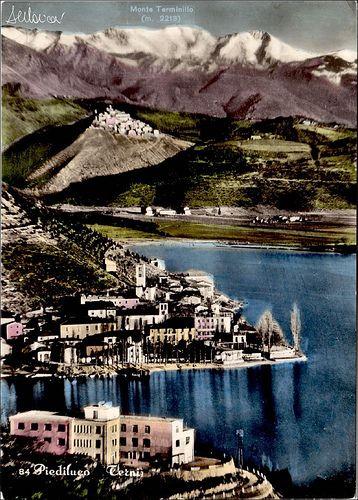 Piediluco-Labro-Terminillo-1955    #TuscanyAgriturismoGiratola